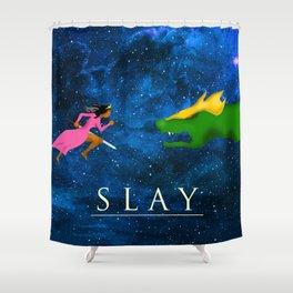 Slay Shower Curtain
