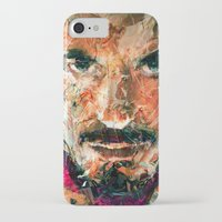 tony stark iPhone & iPod Cases featuring TONY STARK by DITO SUGITO
