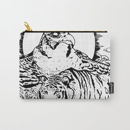 Tiger Falcon Carry-All Pouch