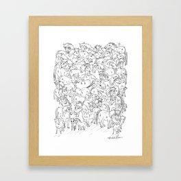 Pony Shenanigans Framed Art Print