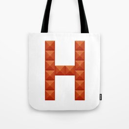 """Letter """"H"""" print in beautiful design Fashion Modern Style Tote Bag"""