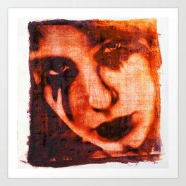 Lost Love Dye Art Print Art Print