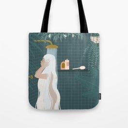 shower goals Tote Bag