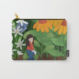 Drawing in he garden Carry-All Pouch