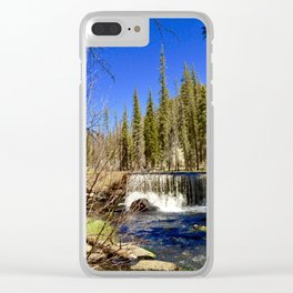 Middle of Nowhere Clear iPhone Case