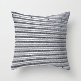 Grain Bin 1 Throw Pillow