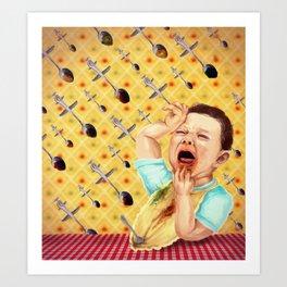 picky eater Art Print