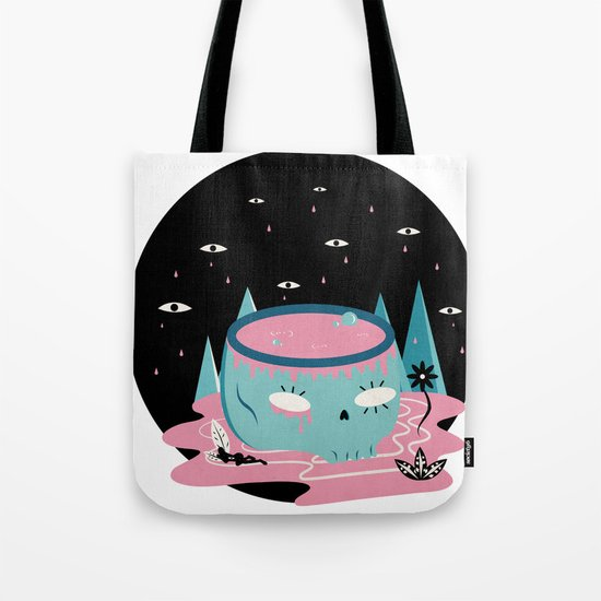 somewhere lost Tote Bag