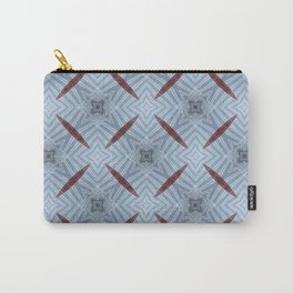 American Folk Red & Blue No. 12 Carry-All Pouch