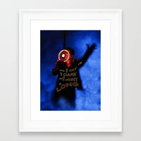 u2 Framed Art Prints featuring U2 / Bono / Baby Light My Way by JR van Kampen