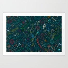 flowerest Art Print
