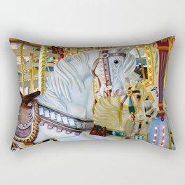 Carousel Horse Rectangular Pillow