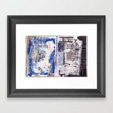 Letter to Paris Framed Art Print