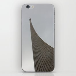 Space Monument Moscow iPhone Skin