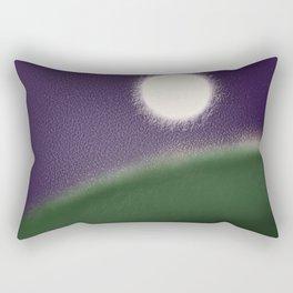 Fatness of the moon Rectangular Pillow