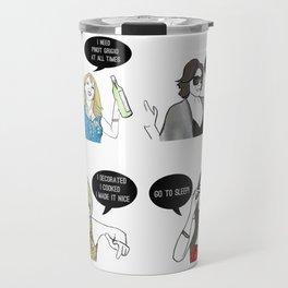 New York Women Travel Mug