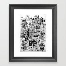HONG KONG CLUB Framed Art Print