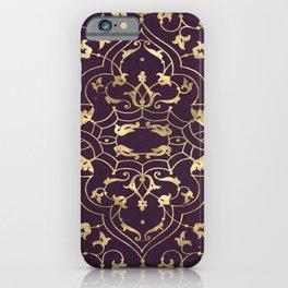 Gold Ornate 2 iPhone Case