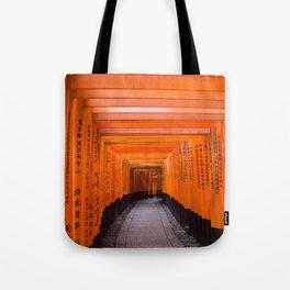 Japan Travel Photo - Fushimi Inari Shrine Tote Bag
