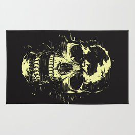 Scream (gold) Rug