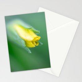 Tiny flower bud Stationery Cards