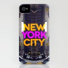 New York City 10 Slim Case iPhone (4, 4s)