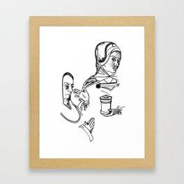 Lady of Dismissal and of Prayer Framed Art Print