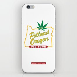 Potland Oregon iPhone Skin