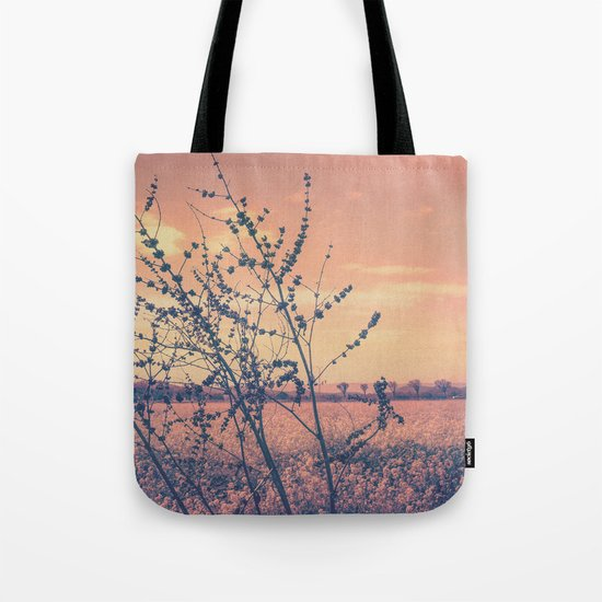 Imperfect Beauty (Beginning of Spring, California Countryside Farm) Tote Bag