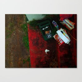 no advertising material. Canvas Print