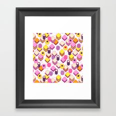 Licorice Allsorts with no type Framed Art Print