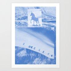 Unicorn and penguins