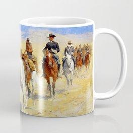 "Frederic Remington Art ""Pony Tracks In the Buffalo Trail"" Coffee Mug"