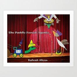 Talent Show Art Print
