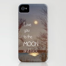 To the Moon and Back Slim Case iPhone (4, 4s)