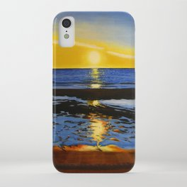 Sunset on the Hudson Bay  iPhone Case