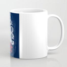 Werewolf Scratching Spooky Fleas Coffee Mug