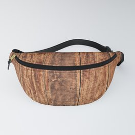 Wooden timber floor Fanny Pack