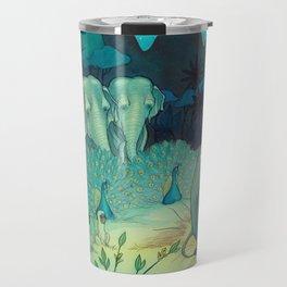 Baby Elephant And The Animal Kingdom Travel Mug