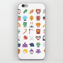 CUTE HALLOWEEN COSTUME FALL PATTERN iPhone Skin