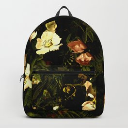 Floral Night III Backpack