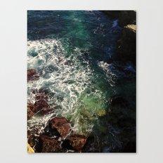 shore cliffs Canvas Print