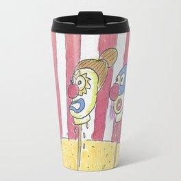 Deceased Clown Heads Travel Mug