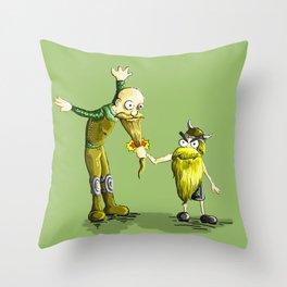 Zugzwang Throw Pillow