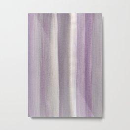 Purple Gray Watercolor Dream #1 #painting #decor #art #society6 Metal Print