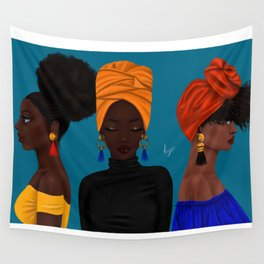 afrocentric Wall Tapestry