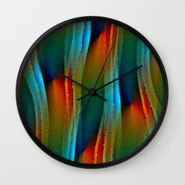 Aurora Oil Wall Clock