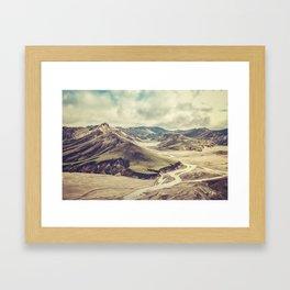 Landmannalaugar Framed Art Print