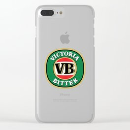 Victoria Bitter Beer Clear iPhone Case