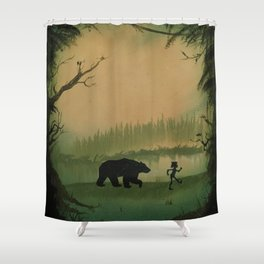 The Jungle Book by Rudyard Kipling Shower Curtain